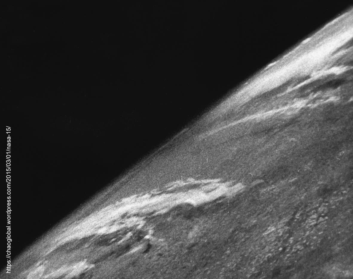 Pierwsze zdjęcie Ziemi z przestrzeni kosmicznej, 1946