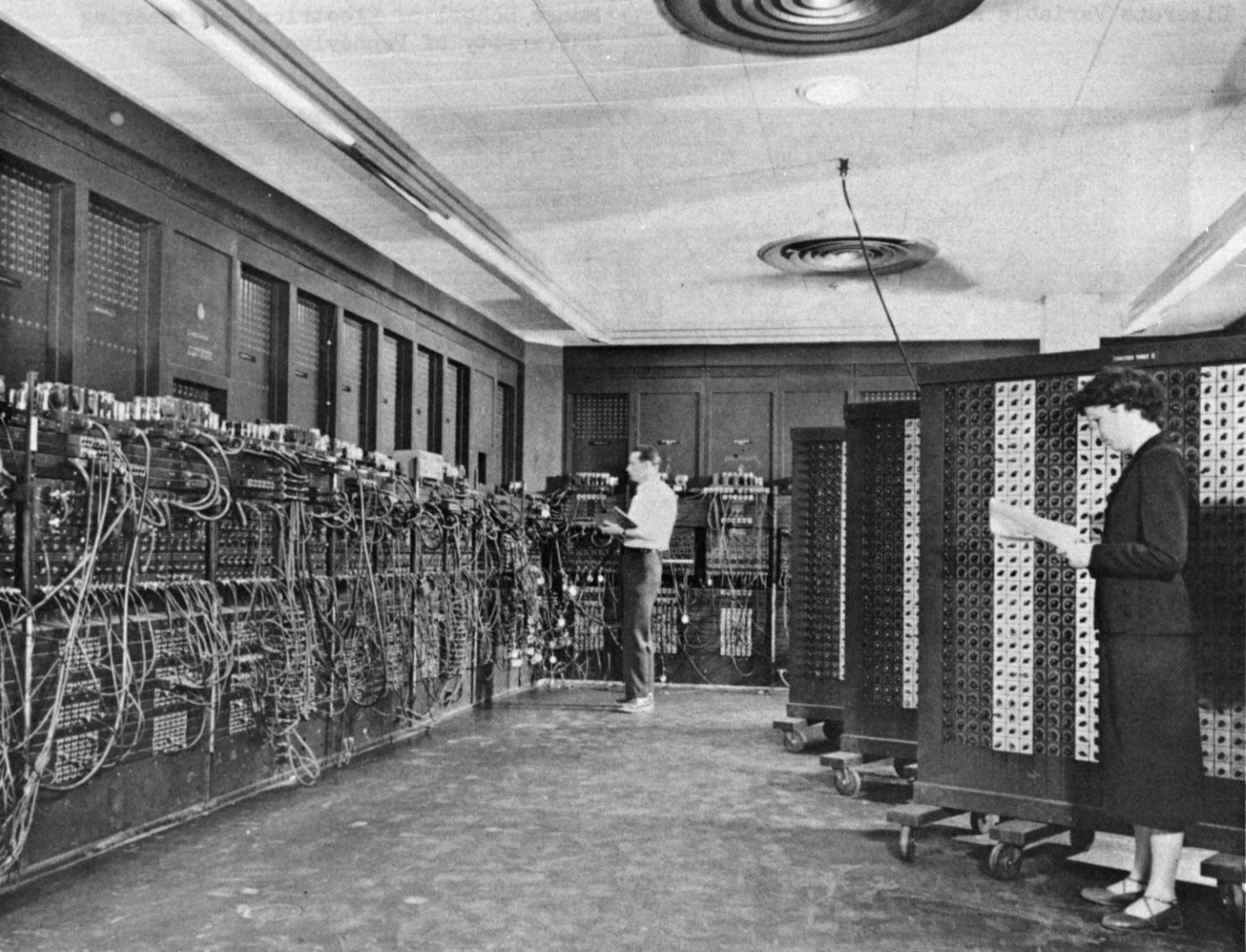 Zdjęcie ENIAC-a (źródło: US Army)