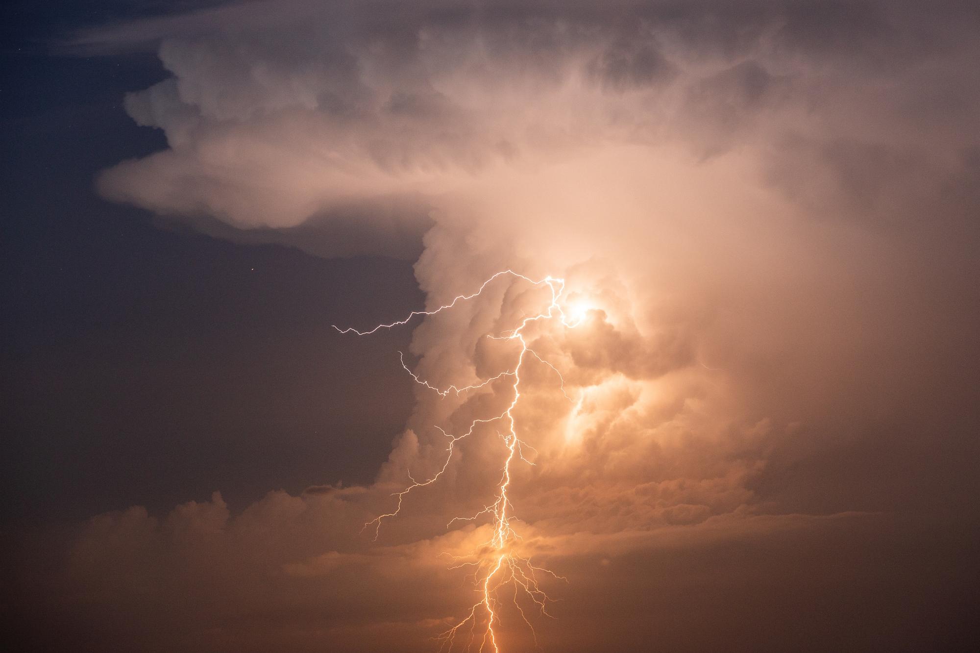 Witek Kaszkin, burza
