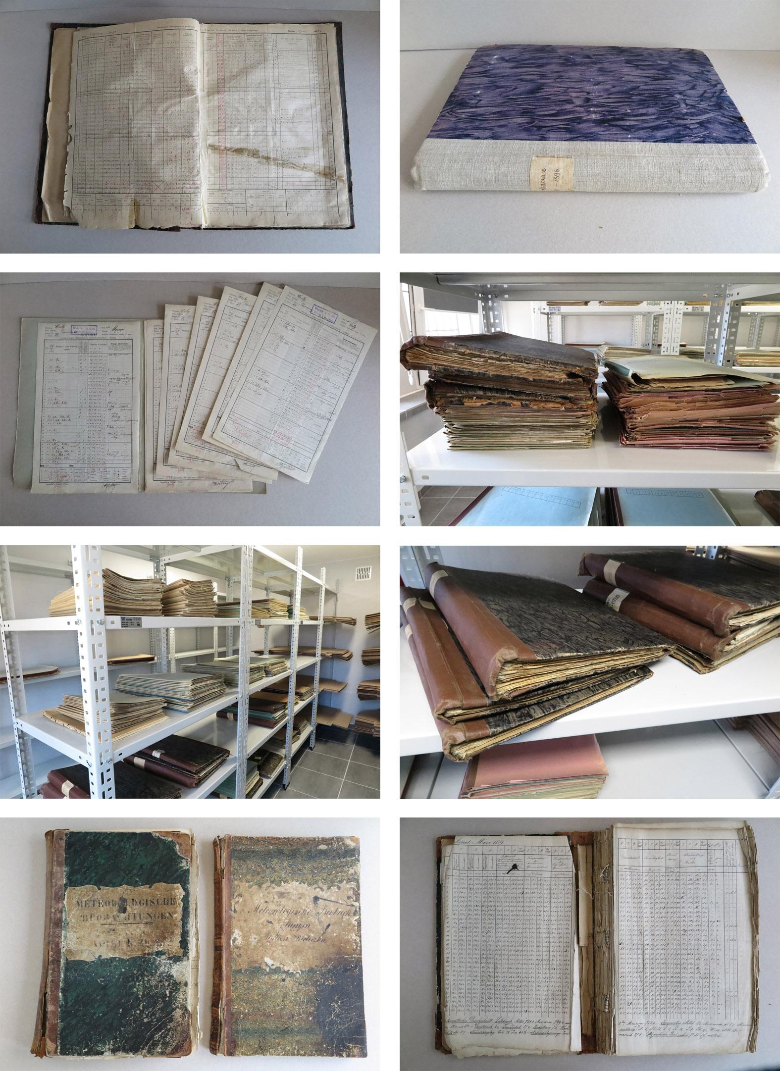 Zbiory archiwalne w IMGW-PIB przeznaczone do digitalizacji.