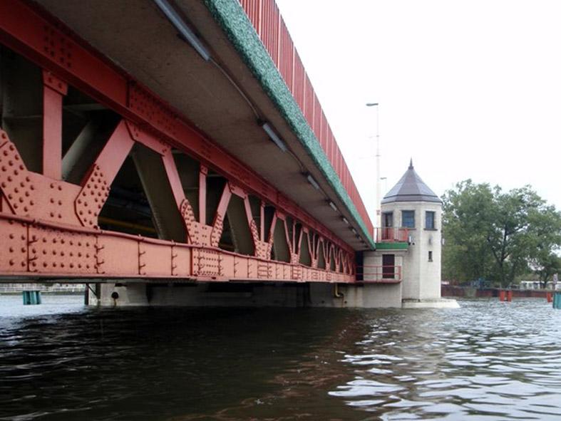 15.10.2009 r., Most Długi, Odra Zachodnia, Szczecin.
