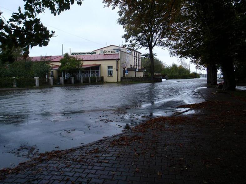 15.10.2009 r., Trzebież.