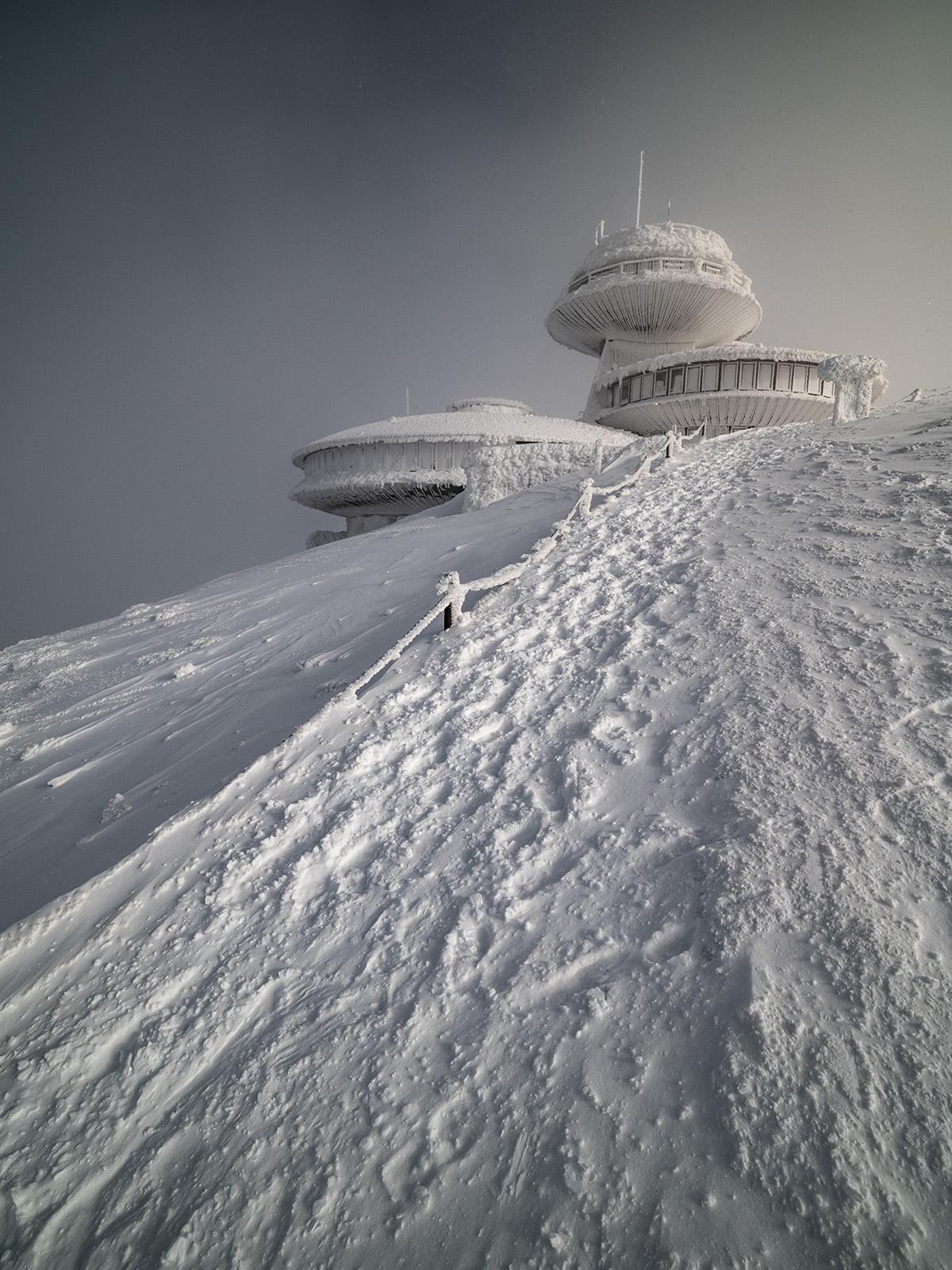 Wysokogórskie Obserwatorium Meteorologiczne Śnieżka (fot. Archiwum IMGW)